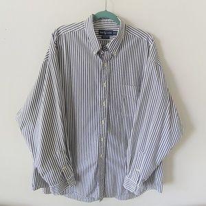 Ralph Lauren Big Shirt , Blue Striped